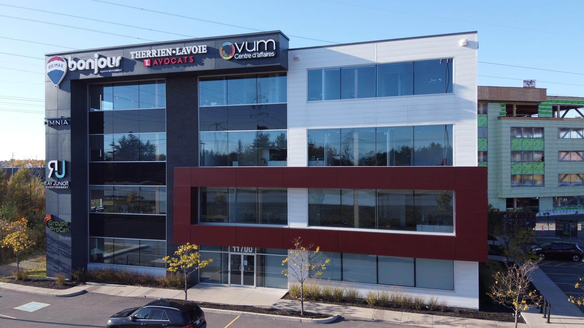 Guimond Construction - Tour à bureaux