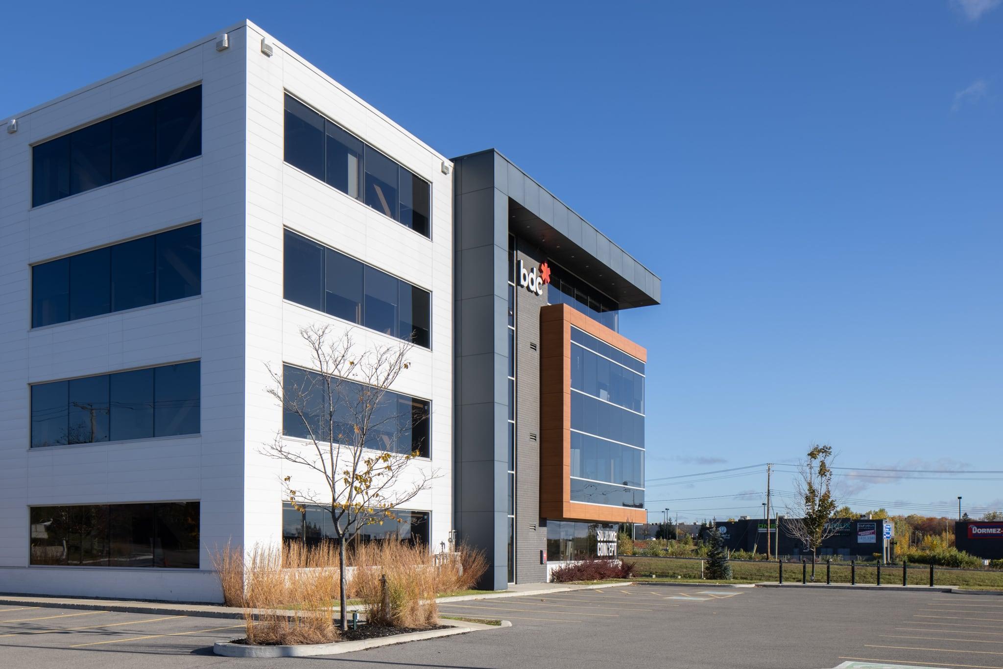 Guimond Construction-Tour à bureaux